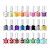BORN PRETTY 6ml Nail Art Stamping Polish Candy Color Manicure Plate...