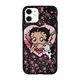 Betty Boop Phone Case,Anime Full-Body Protective Phone Cover,Suitable for Iphone11,11 Pro,11 Pro Max for Women Men iPhone 11 Pro Max-6.5