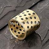 Ochoos JDB354530 Solid lubricating Bearings Graphite Inserts Copper Sets Copper Sleeve Graphite Copper Sleeve