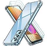ivoler Coque pour Samsung Galaxy A32 4G avec Pack de 3 Protection Écran en...