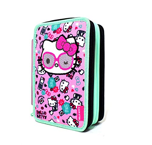 HELLO KITTY FABULOUS ASTUCCIO 3 ZIP