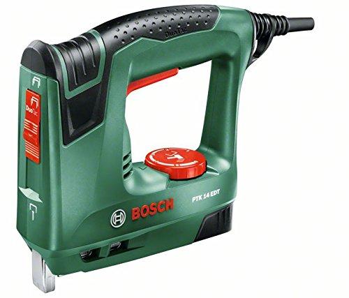 Bosch Home and Garden PTK 14 EDT Graffatrice Duo Tac Verde