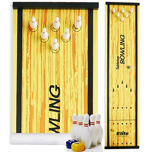 Elite Sportz Bowling Game - Indoor Table Games for...