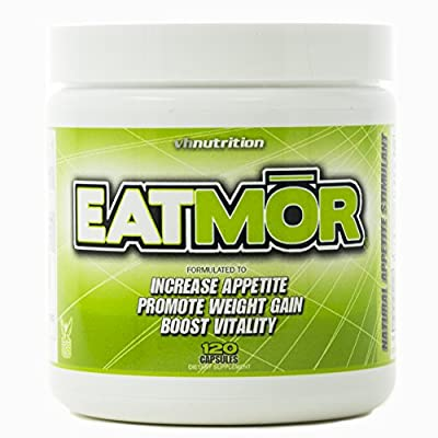 Weight gain pills that improve appetite and assists the body to gain weight in the right places. Avoid options that can cause problems such as cushing syndrome which causes weight gain in the lower back and belly. Eatmor is a weight gain formula that...