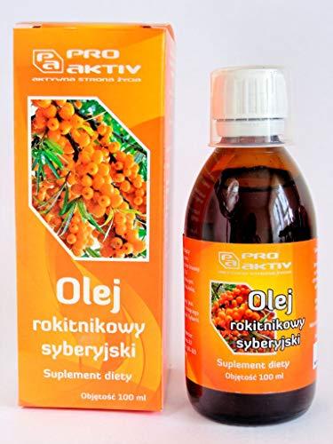 Proaktiv Siberisches Sanddornöl, natürliches, nicht raffiniertes Originalprodukt, 100 ml