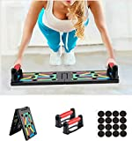 Surplex 9 en 1 Push Up Musculation Push Up Board avec Poignée, Pliable...