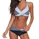 Bikinis Mujer 2020 Push up Sexy de Lunares de Playa Conjunto de Traje de BañO Estampado Bohemio...