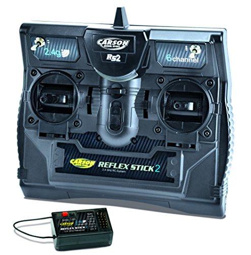 Carson Optical - Radiocomando Reflex Stick 2 2.4 GHz 6 Canali #501006