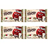 M&MS Seasonal Sugar Cookie Bulk Pack - 4 Bags - 29.76 Total Ounces - White Chocolate Sugar Cookie M&Ms - Bulk Holiday Bundle