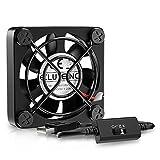 ELUTENG Ventilateur USB 40mm Silencieux Fan 5v Trois Vitesse Réglable Ventilateur Mini 4cm Ventilateur de...