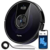 Robot Vacuum, Bagotte 2200Pa & Map Robotic Vacuum Cleaner: Wi-Fi Connectivity, 2.7' Super-Thin, Methodical Cleaning, Scheduling, Boundary Strips for Pet Hair,Hardwood Floors & Carpets