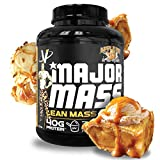 VMI Sports, Major Mass Lean Mass Gainer, Apple Pie, 60 Scoops (4 lbs.), Protein Powder with Protein to Carbohydrates to Fats Ratio for Lean Muscle Mass & Weight Gaining, Pre- or Post-Workout