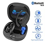 12 Hour Playtime Wireless Earbuds Bluetooth Noise Cancelling Ear Buds - #1 Ear Buds Wireless Headphones Compatible with iPhone Android Fitbit