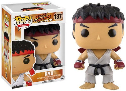 Pop! Games: Street Fighter Ryu #137