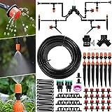 Aiglam Système d'irrigation Jardin, Micro Irrigation Goutte à Goutte Irrigation Automatique Kit Irrigation Goutte à Goutte Automatique Irrigation de Jardin...