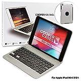 Cooper Kai SKEL P1 [Étui Coquille Clapet & Clavier Bluetooth] pour Apple iPad...