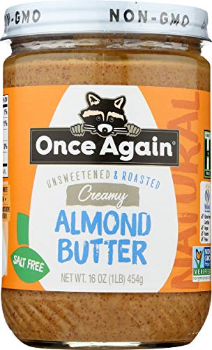 Creamy Roasted Almond Butter