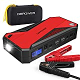 DBPOWER 800A 18000mAh Portable Car Jump Starter (up to 7.2L Gas, 5.5L Diesel Engine) Battery Booster...