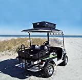 Parts Direct Golf Cart CARGO Caddie Plastic Cargo Box With Straps