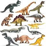 Dinosaures à l'Aspect réaliste de 25,4 cm de Marque Prextex – Assortiment...