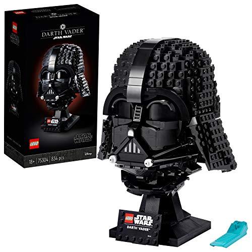 LEGO75304StarWarsDarth-VaderHelmBausetfürErwachsene,Deko,Geschenkidee,Modell...