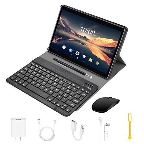 4G Tablet 10 Pollici con WIFI Offerte Android 9.0 Quad Core 4GB RAM 64GB ROM/Fino a 128GB 8000mAh...