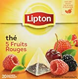 Lipton Tea 5 Fruits Rouges - 5 Red Fruits