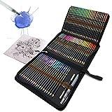 72 Crayons Aquarellables, Crayons de couleur aquarellables avec système...
