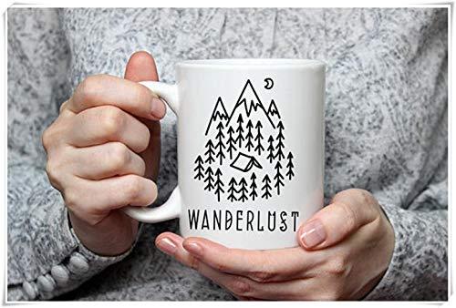 Wanderlust Mug voyage Mug aventure café tasse cadeau pour voyageur cadeau...