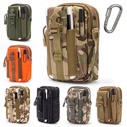 Lightbare Tactical Molle Pouch Multipurpose EDC Waist Bag Pack,...