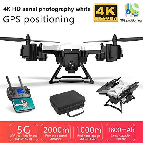 auspilybiber KY601G Drone GPS WiFi 5G con VideoCamera 4K FPV RC 90 Grandangolare Drone Professionale con Funzione Seguimi,RC Quadcopter 3D Flip e Rolls Funzione Holding Altitudine Controllo practical