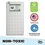 Serta Tranquility Eco Firm Innerspring Crib and Toddler Mattress   Waterproof   GREENGUARD Gold Certified (Natural/Non-Toxic)