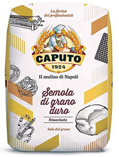 Caputo Semola Di Grano Duro Rimaninata Semolina Flour 1 kg B