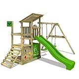 FATMOOSE Portique bois FruityForest Fun XXL Aire de jeux sur 3 niveaux le...