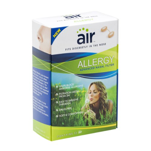 Air Allergy Advanced 3m Nasal Filter, 12 Count