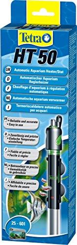 Tetra HT 50 - Potente Riscaldatore per Acquario per Coprire Diversi Livelli di Potenza con Manopola di Regolazione della Temperatura