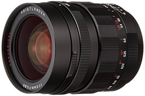 VoightLander 単焦点レンズ NOKTON 17.5mm F0.95 Micro Four Thirds マイクロフォーサーズ対応 17.5F0.95BK