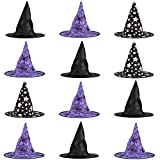Big Mo's Toys Halloween Witch Hats Costumes for Kids  Varied Designs 12 Pack