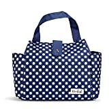 Fit & Fresh Insulated Lunch Bag, Westport Navy Classic Dot