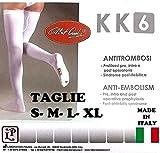 Calze Autoreggenti 1 PAIO Post-Parto e Post-Operatorie Antitrombosi a Compressione Graduata KK6 -...