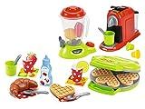 Jouets Ecoiffier – 2624 - Petit Électroménager pour enfants 100 % Chef – 28 pièces – Dès...