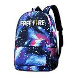 GYTHJ Starry Backpack Galaxy School Bag Mochila Unisex Free-Fire, Mochila Star Sky, Mochila, Lona de Bolsillo, Bolso, Bolsa de Viaje.