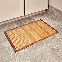 iDesign Formbu Bamboo Floor Mat Non-Skid