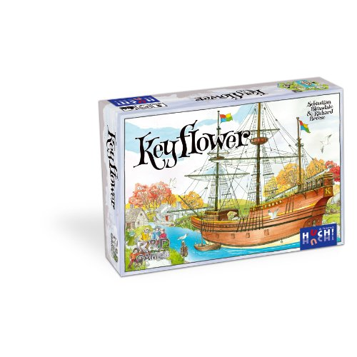 R&D Games Keyflower Board Game, Multi-Colored