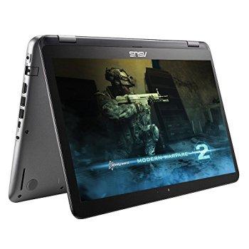 "2017 ASUS 15.6"" Top Performance 2-in-1 Full HD 1920x1080 Gaming Laptop PC Intel Core i7-7500 Processor 12GB RAM 1TB HDD+128GB SSD Nvidia 940MX Graphics 802.11AC Wifi Webcam Bluetooth Windows 10"