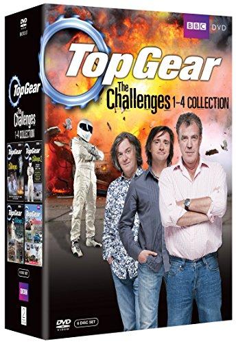Top Gear / トップギア - The Challenges 1-4 コレクション DVD-BOX(738 分収録) BBC DVD Import