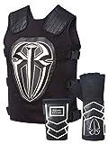 Roman Reigns Tactical Replica Vest Superman Punch Glove Costume-White