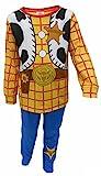 Niños Toy Story Buzz LightYear o Woody Vestir Pijamas 18-24m 2-3y 3-4y 4-5y 5-6y (18-24 Meses, Woody)