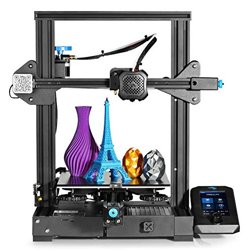3 idea Imagine Create Print Official Creality Ender 3 V2 2021 3D Printer Upgraded with Silent...