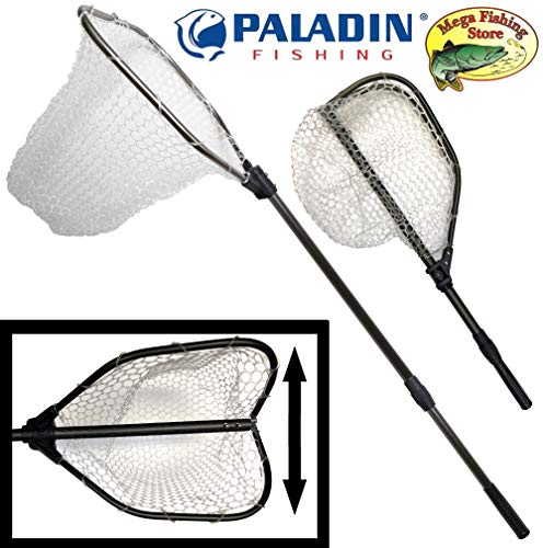 PALADIN Fishing Ultra Strong - Guadino da Pesca telescopico in PVC, 1,60 m